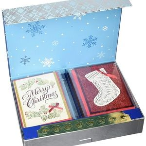 Hallmark Assorted Christmas Holiday Cards Box Set